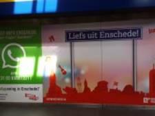 'Liefs uit Enschede' voortaan ook in stationshal