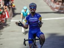 Julian Alaphilippe leader de Deceuninck-Quick Step sur les Strade Bianche