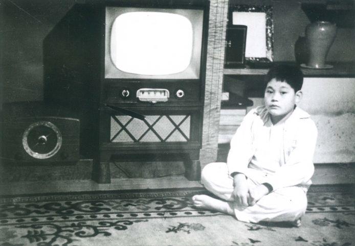 Archieffoto van Lee Kun-hee uit zijn kindertijd.