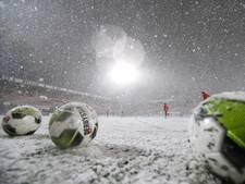 FC Oss - NEC afgelast vanwege hevige sneeuwval; maandag nieuwe kans