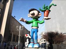 L'inauguration de la statue de Gaston Lagaffe à Charleroi est reportée