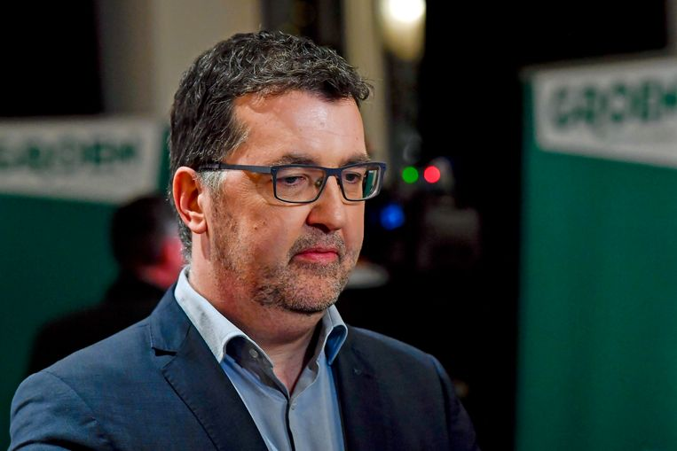 Groen-lijsttrekker Wouter Van Besien.