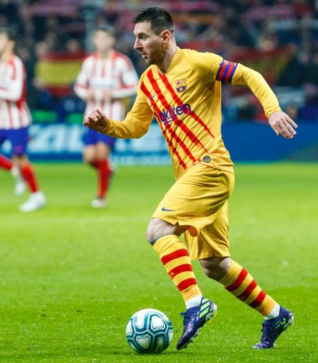 Zelf zag ik de kleine grote man Lionel Messi nog nooit live aan het werk. De tijd dringt
