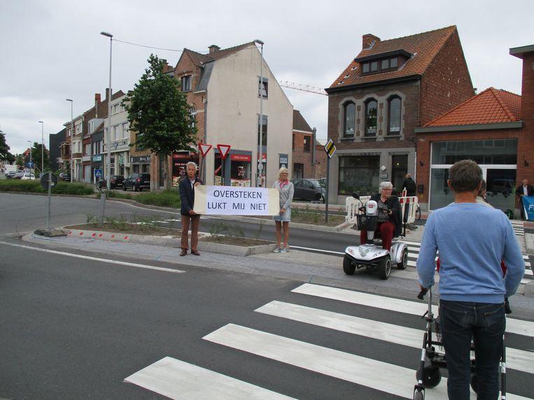 De werken aan de Oostendse Steenweg waren pas afgerond of er was al een mankement.