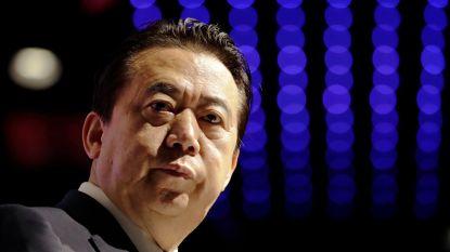 Echtgenote van vermiste Chinese Interpol-voorzitter denkt dat hij in gevaar is