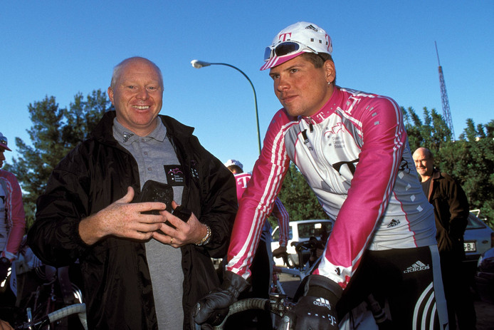 Rudy Pevenage en Jan Ullrich.