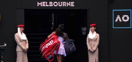 Coup de tonnerre à Melbourne: Serena Williams prend la porte