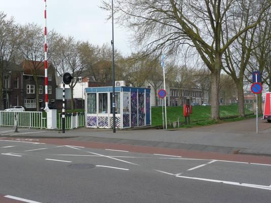 Het brugwachtershuisje bij de Orthenbrug, een jaar geleden