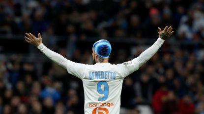 Opmerkelijk: Marseille-spits loopt hoofdblessure op en speelt na behandeling wedstrijd uit met... badmuts