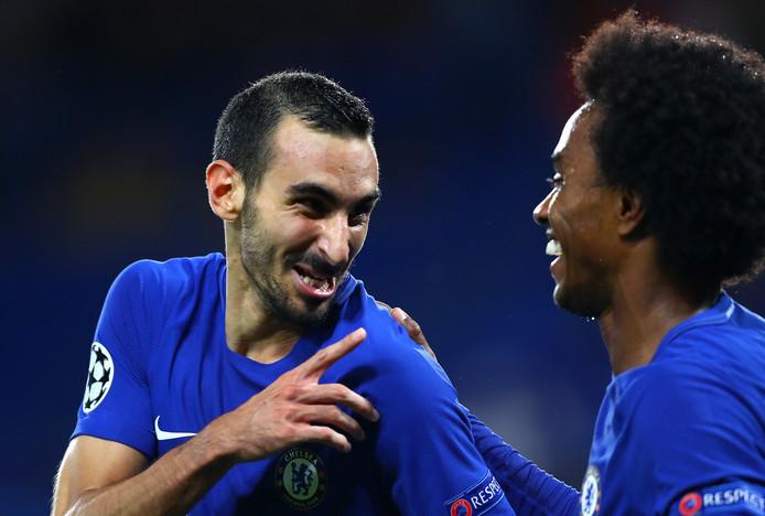 Zappacosta debuteerde vanavond voor Chelsea in de Champions League met een doelpunt.