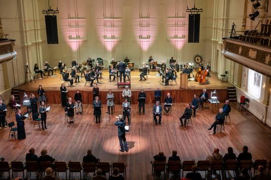 Muziektheaterspektakel Op het Puin in Musis was een van de laatste voorstellingen.