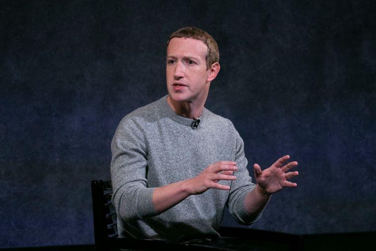 Mark Zuckerberg.  Beeld AP