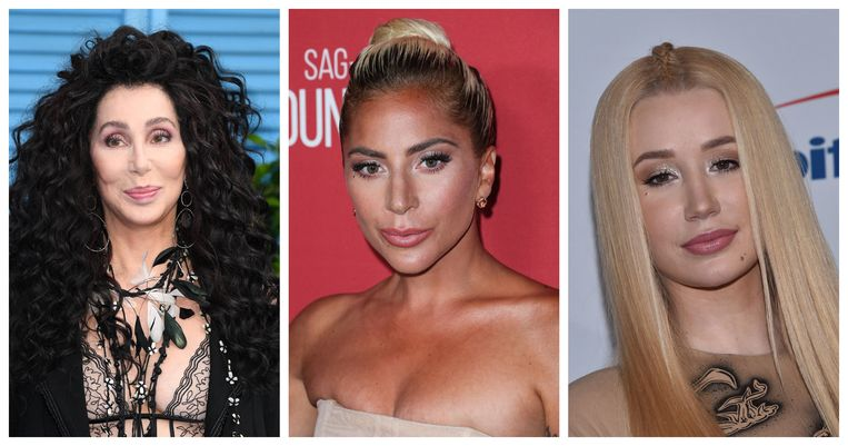 Cher, Lady Gaga en Iggy Azalea
