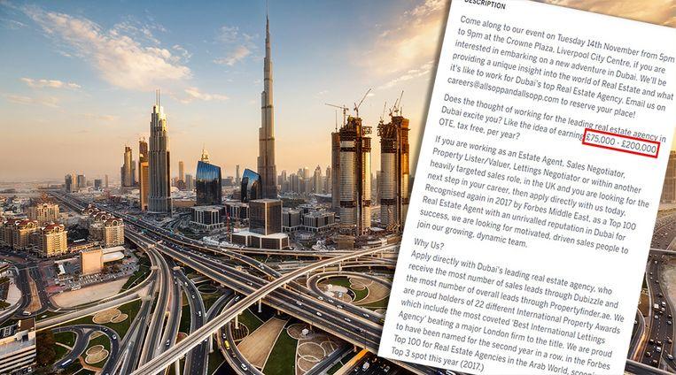 Wordt Dubai straks jouw nieuwe werkplek?