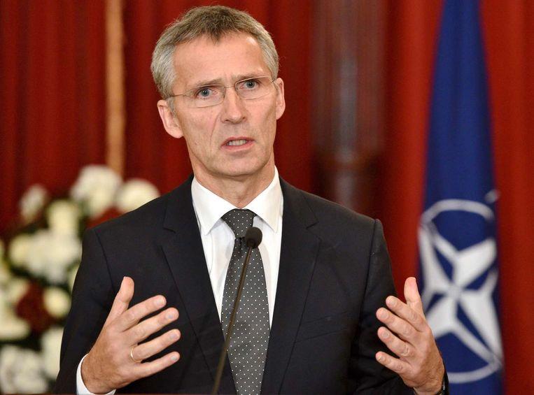Secretaris-generaal van de NAVO Jens Stoltenberg. Beeld afp