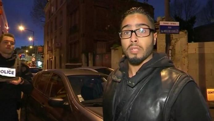 Deze inwoner van Parijs bleek onderdak te bieden aan terroristen.