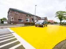 Nieuwkoop treft nieuwe maatregelen op de Kerkweg in Ter Aar na falen kanariegele vlakken