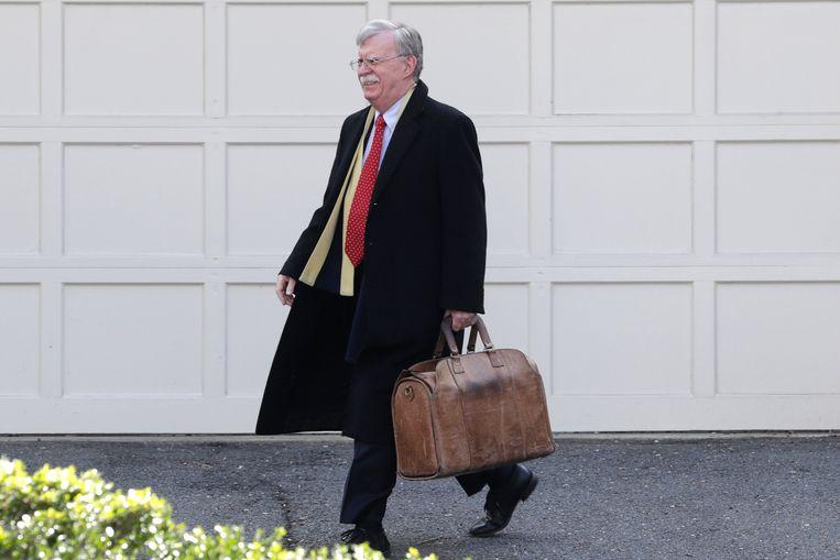 Nieuwe onthullingen van voormalig veiligheidsadviseur John Bolton staan centraal in het impeachmentproces.