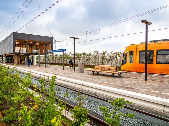Nieuwe Station Lansingerland-Zoetermeer.