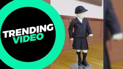 TRENDING: Ophef over een schooluniform van Armani