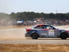GTC Rally past parcours op vliegveld Seppe aan