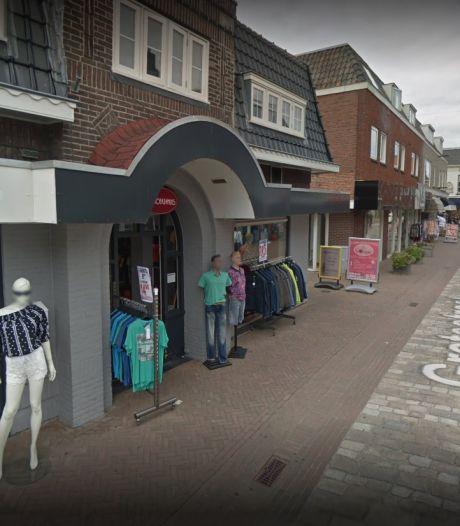 Brandje bij modezaak Het Broekenhuis in Tubbergen