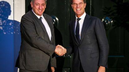 Jambon en Rutte overleggen maandag voor het eerst sinds coronacrisis