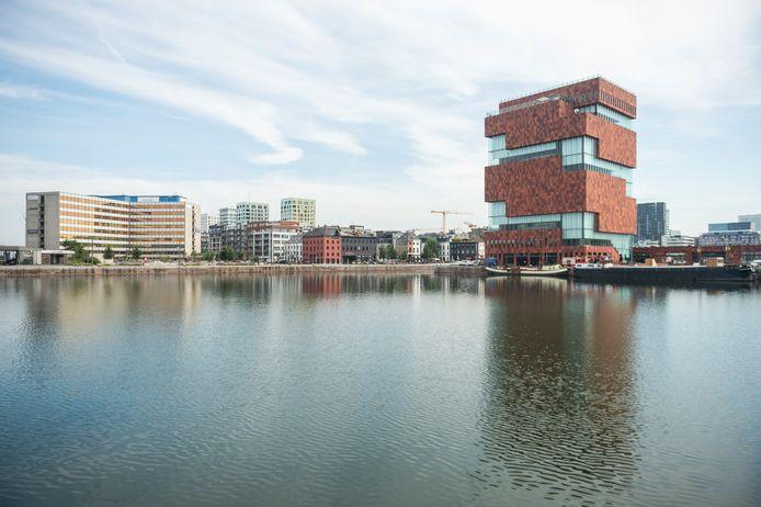 10082020 Antwerpen Mas    Museum Aan de stroom