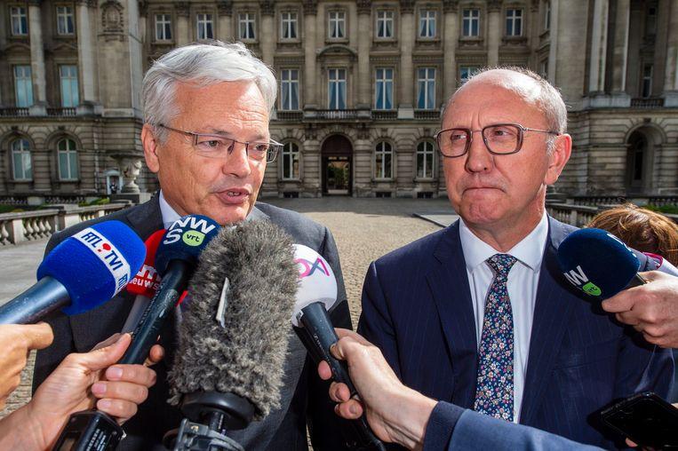 Didier Reynders en Johan Vande Lanotte.