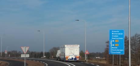 Via 'K' over nieuwe N18-aansluiting Eibergen naar Beltrum en terug