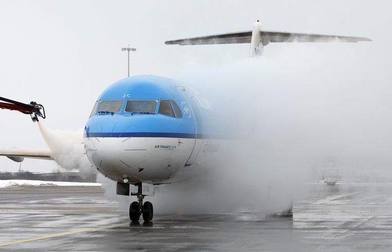 Een toestel van KLM. Foto ANP Beeld
