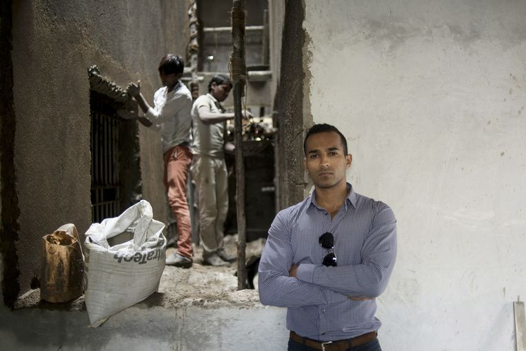 Rajini Bopaiah, textielonderneemster: 'worden we niet te duur?' Beeld Arindam Mukherjee/Agency Genesis