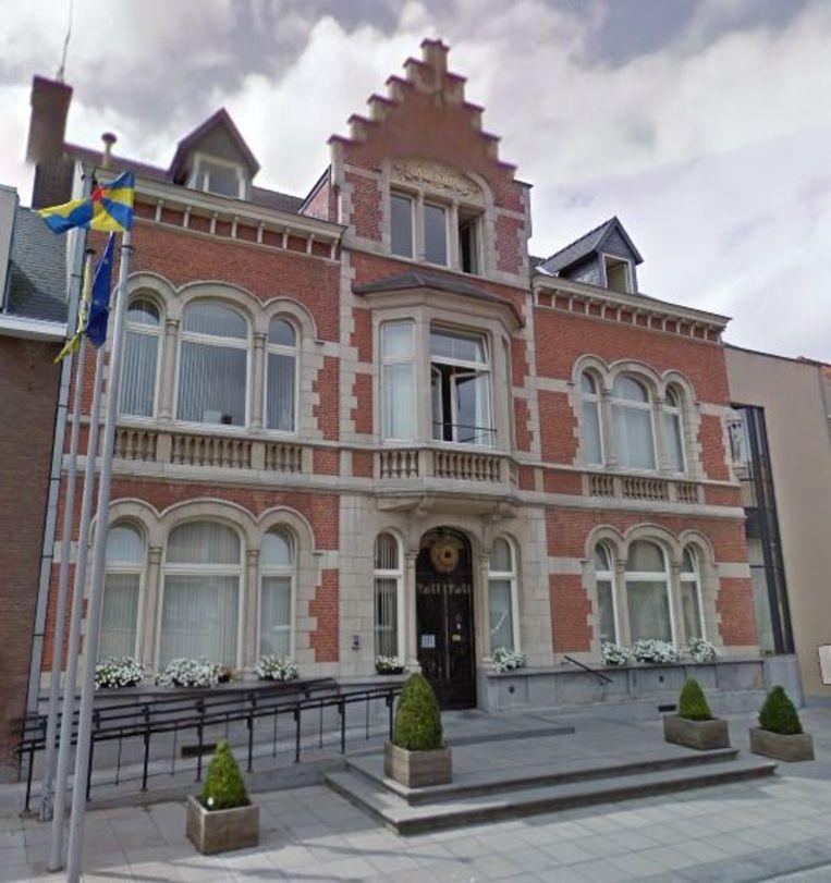 Het gemeentehuis van Kortemark.