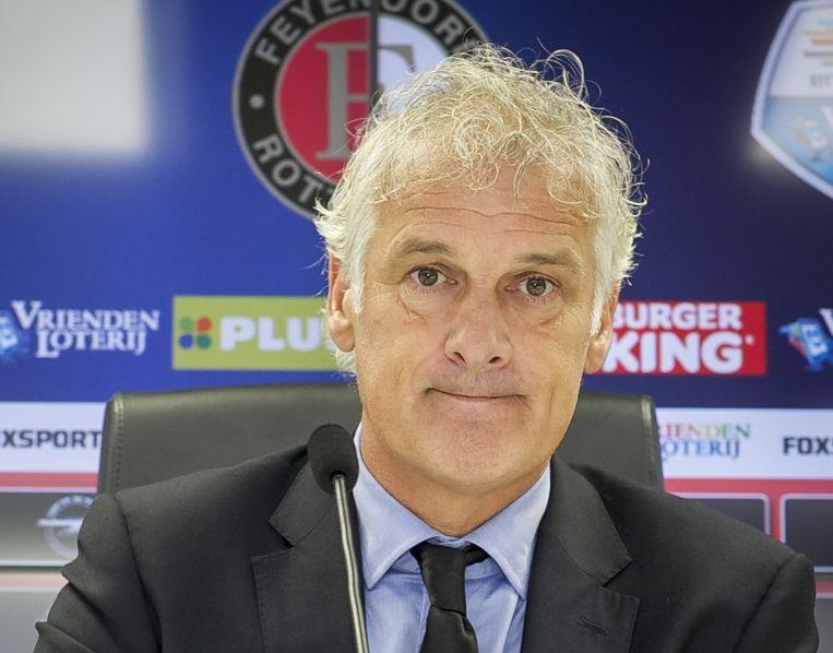 Feyenoord-coach Fred Rutten. Beeld anp