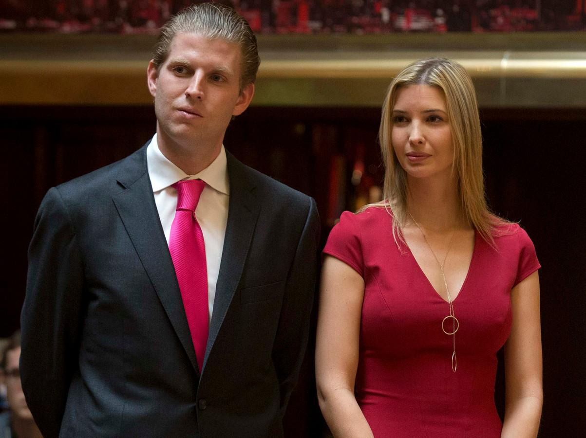 Trump kan niet rekenen op stemmen van zijn kinderen | Foto ... Ivanka Trump