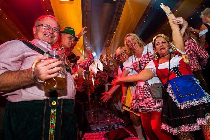 Waalwijk Oktoberfest aan de Taxandriabaan