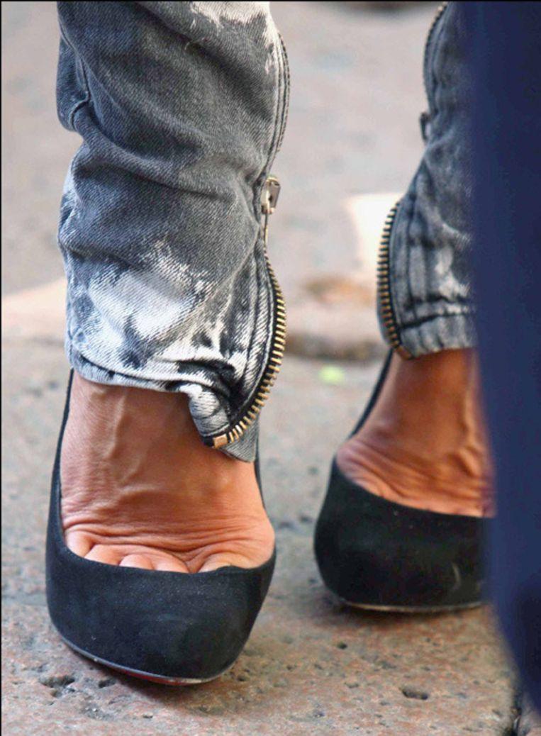 De hamertenen van Victoria Beckham.
