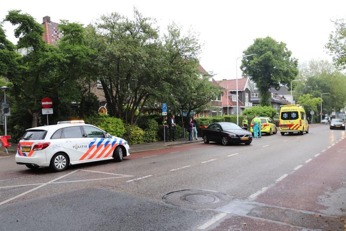 Een fietser werd maandagochtend aangereden door een automobilist