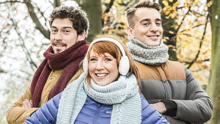 Vincent Byloo, Linde Merckpoel en Sam De Bruyne presenteren Music for Life.