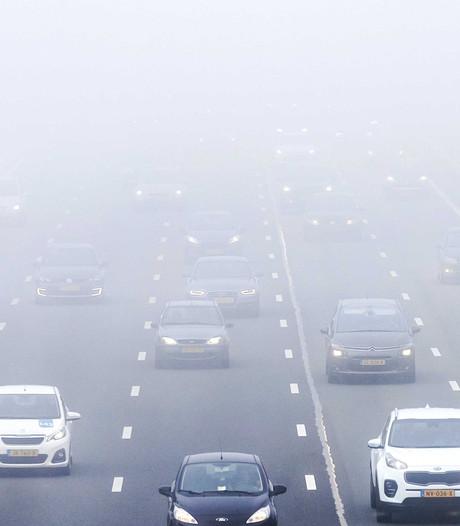 Code geel: dichte mist in het hele land