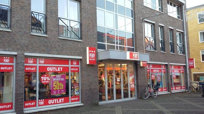 De vestiging van Perry Sport in Doetinchem is al een outlet. Foto: DG
