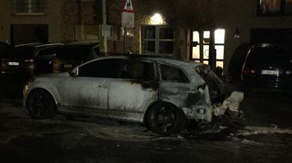 Audi uitgebrand in Aartselaar