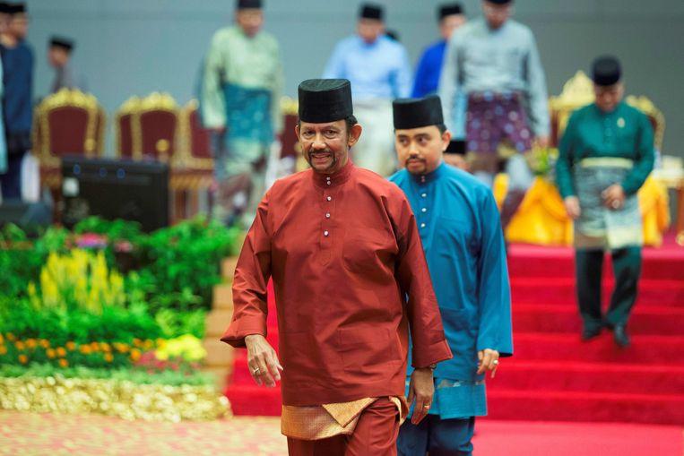 De sultan van Brunei, Hassanal Bolkiah.
