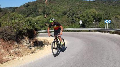 Mark is Europees Kampioen Mountainbiken bij Brandweermannen en Politiediensten