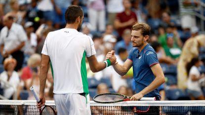 Desillusie voor Goffin in achtste finale US Open: hij wint niet één set tegen fysiek veel sterkere Cilic