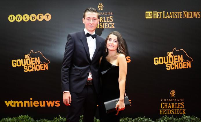 Hans Vanaken en zijn vrouw Lauren.