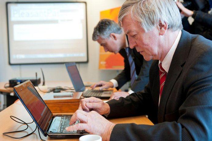 Wethouder Jan van Loon. foto Thomas Segers