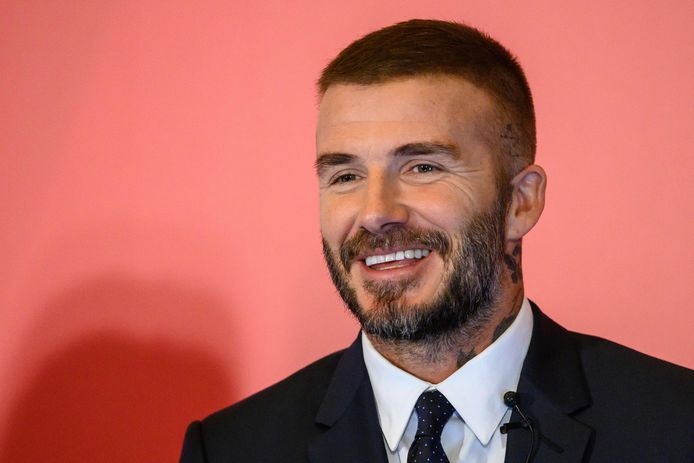 David Beckham op 24 september.
