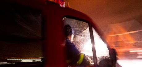 Loods 'Outdoor Delft' gaat in vlammen op