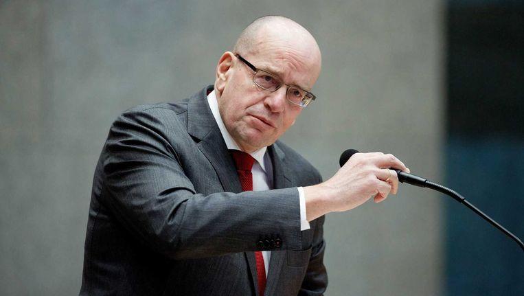 Staatssecretaris van Veiligheid en Justitie Fred Teeven Beeld null